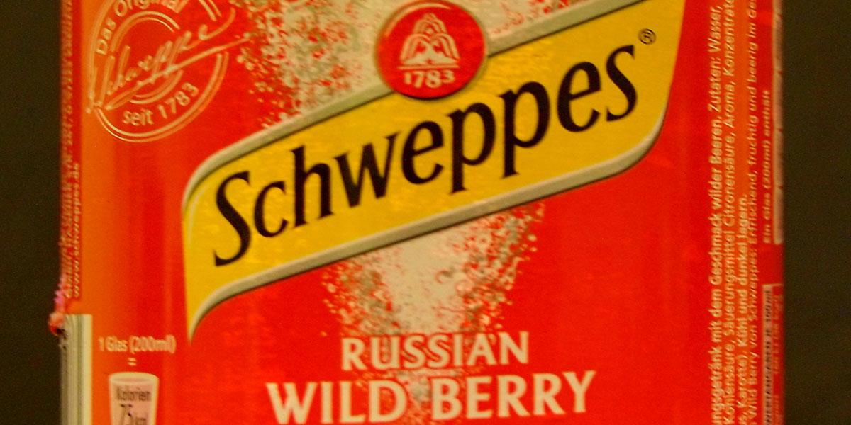 Für einen erfrischenden Longdrink mit angenehm geheimnisvollem Geschmack ist der Russian Wild Berry von Schweppes der ideale Partner.