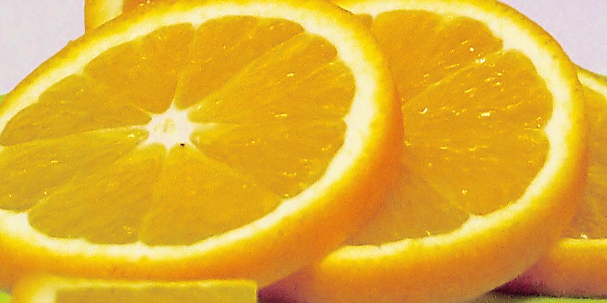 Mit einer frischen Orangenscheibe lässt sich der Lillet Le Blanc wunderbar verzieren.